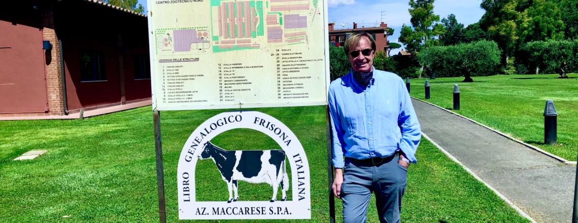 Ambassador Kip Tom Visits Model Italian Farm