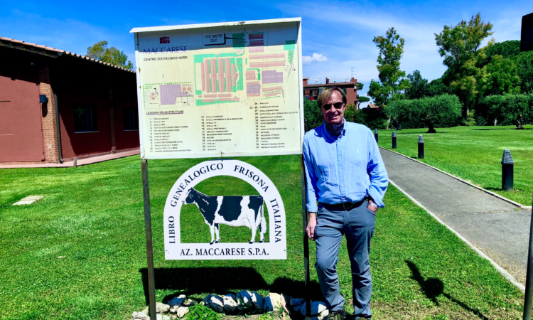 Ambassador Tom visits Maccarese SpA farm