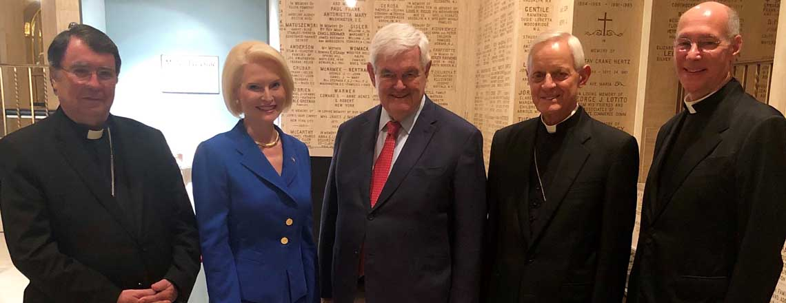 Ambassador Gingrich's Remarks at the National Shrine in Washington D.C.