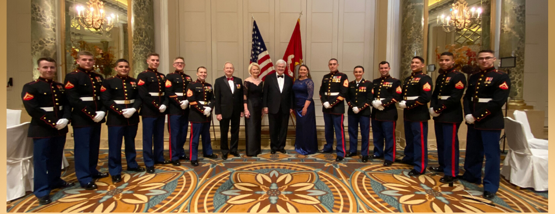 Ambassador Gingrich's Keynote Remarks at the 244th Marine Corps Birthday Ball