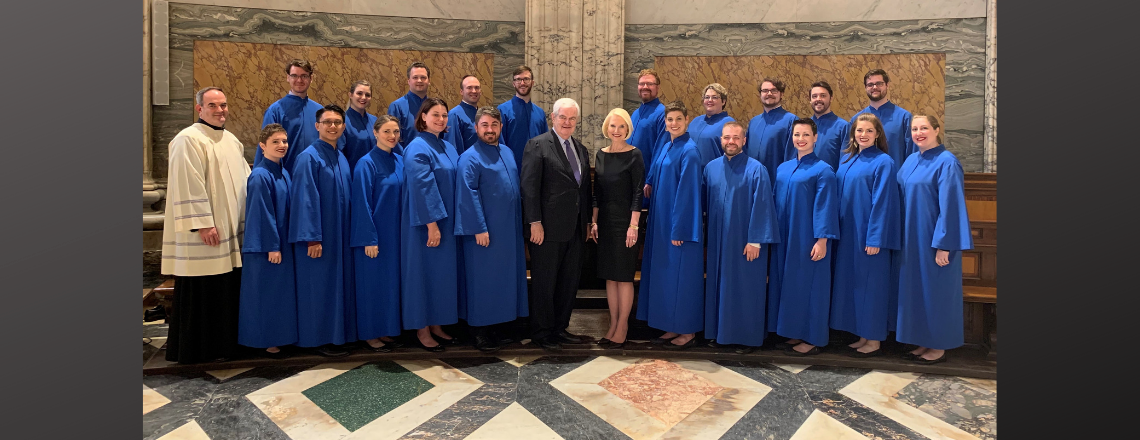 Remarks by Ambassador Gingrich honoring the Choir of the Basilica of the National Shrine