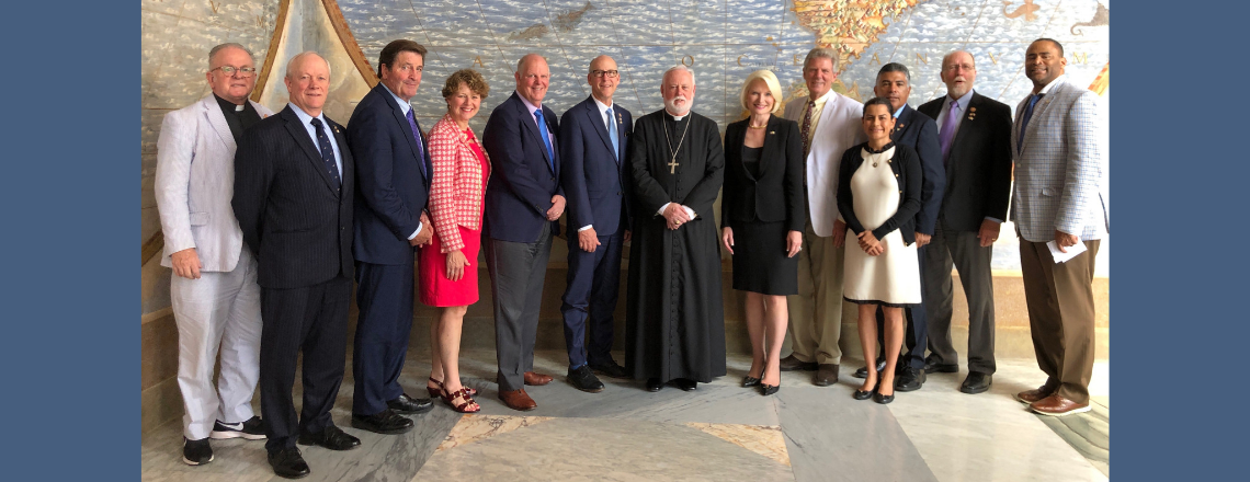 U.S. Congressional Delegation Meets Holy See Foreign Minister