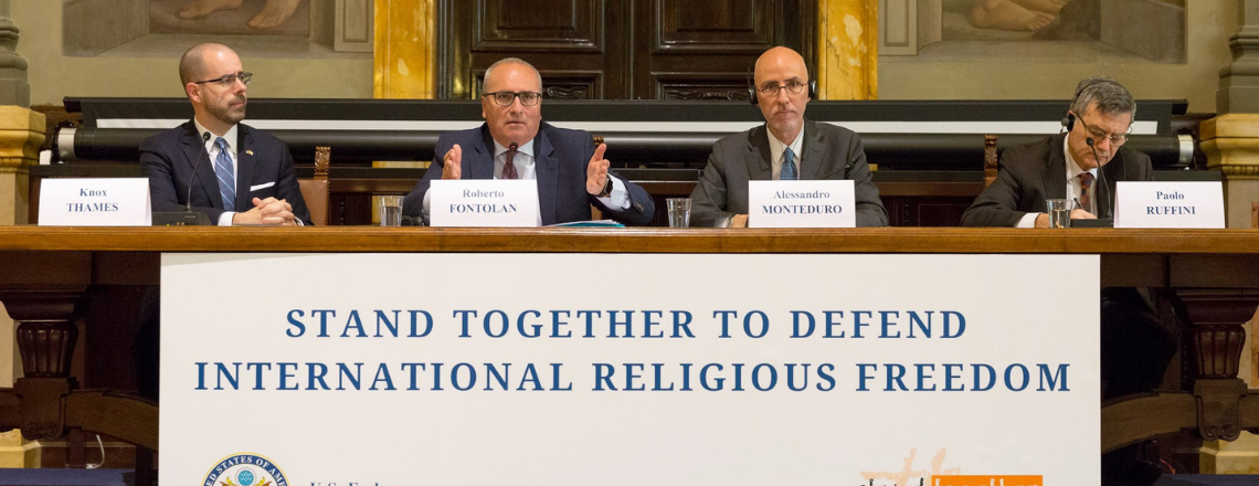 Panelist Remarks at Embassy Symposium: Stand Together to Defend Religious Freedom