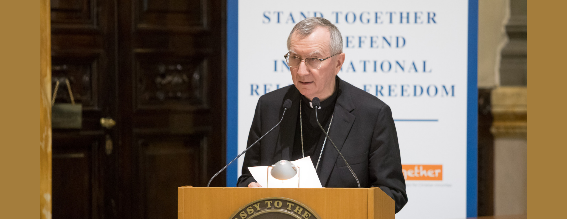 Closing Remarks by Vatican Secretary of State at Religious Freedom Symposium