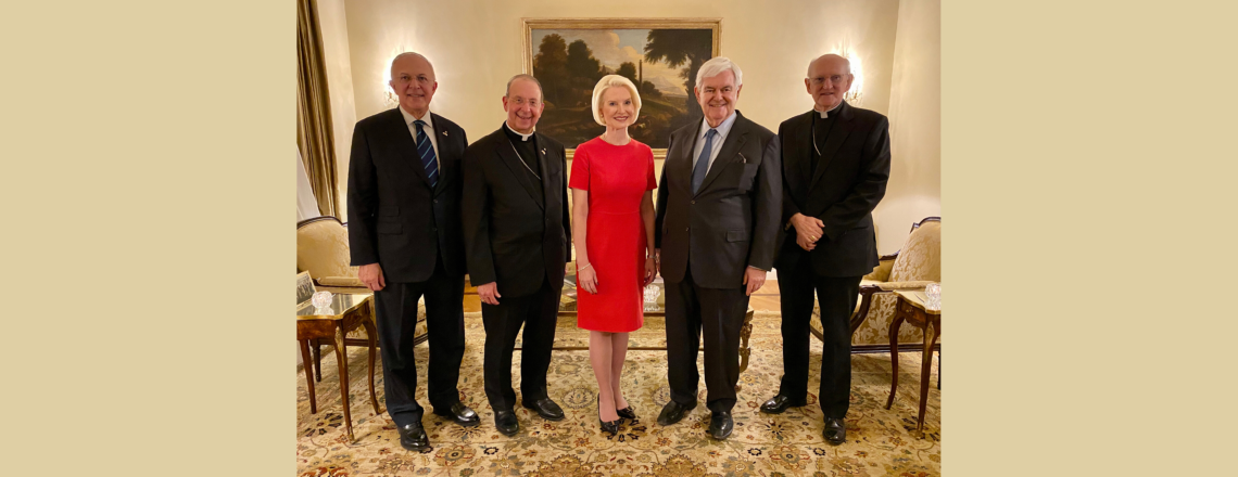 Remarks by Ambassador Gingrich at a Reception in Honor of the Knights of Columbus