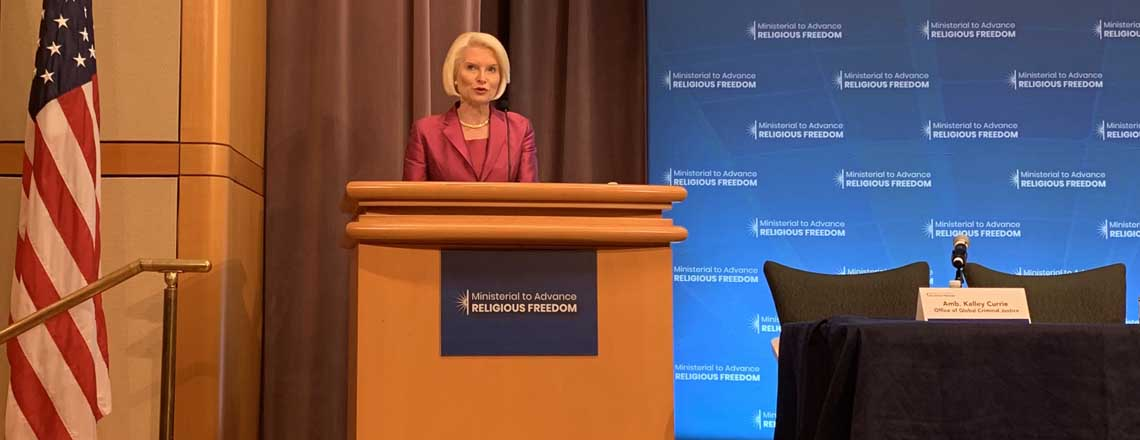 Remarks by Ambassador Gingrich at the 2019 Ministerial to Advance Religious Freedom