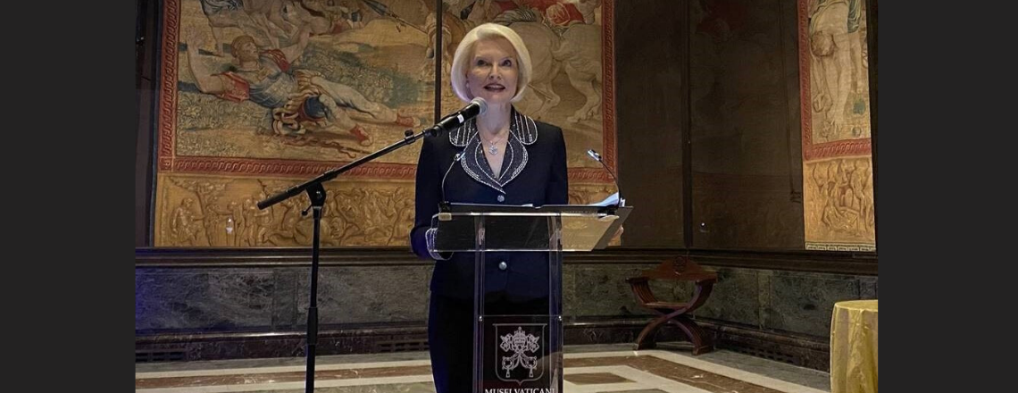 """Remarks by Ambassador Gingrich at the Opening of """"Crivelli's Gold."""""""