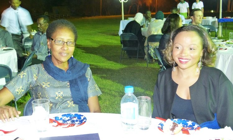 Ambassador Eunice S.Reddick at the Dinner