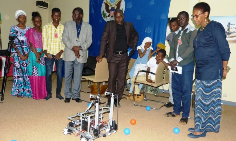 young robot team