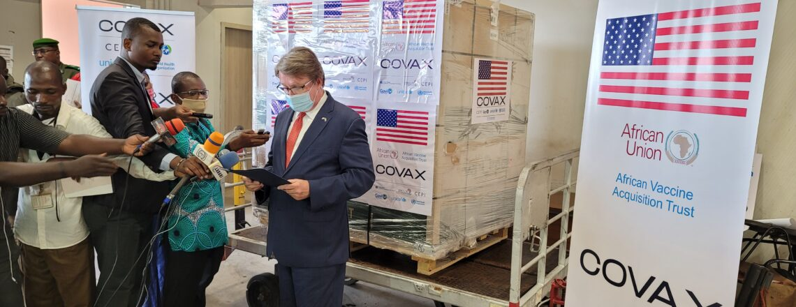 United States Donates Second Batch of 151,200 COVID-19 Vaccines to Niger