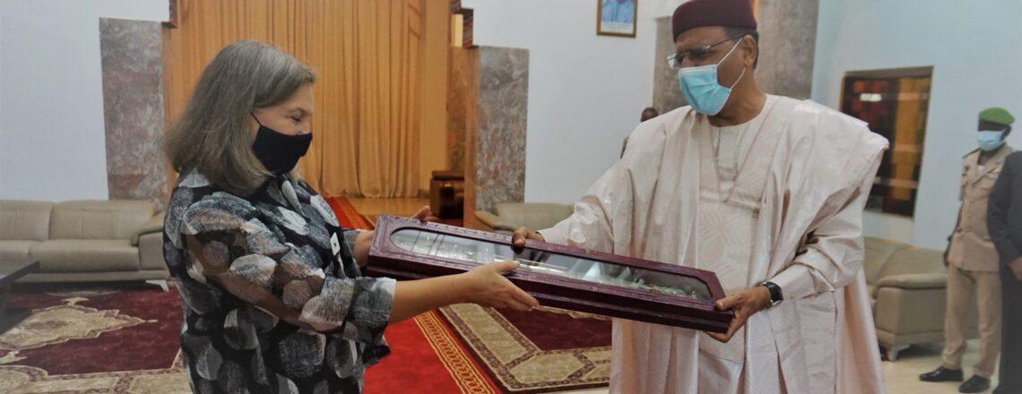 Under Secretary of State Victoria Nuland Visits Niger