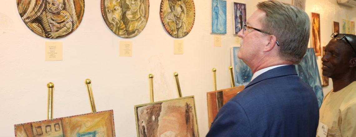 Arts Exhibition Engages Nigerien Audiences