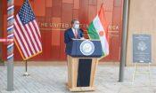 Ambassador Whitaker gives keynote address June 24 2021 at NEC Inauguration