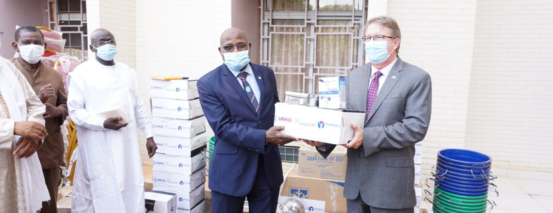U.S. Government Donates Medical Equipment and Supplies to 74 Public Health Centers