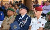 Nigerien Deputy Chod — U.S. DATT Col Gottrich — French DATT