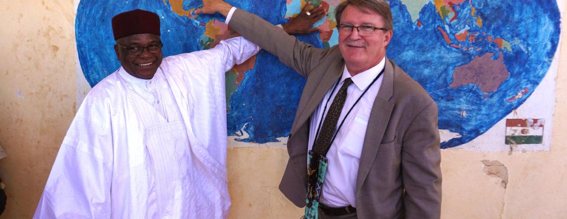 Ambassador Eric Whitaker Traveled to Tahoua