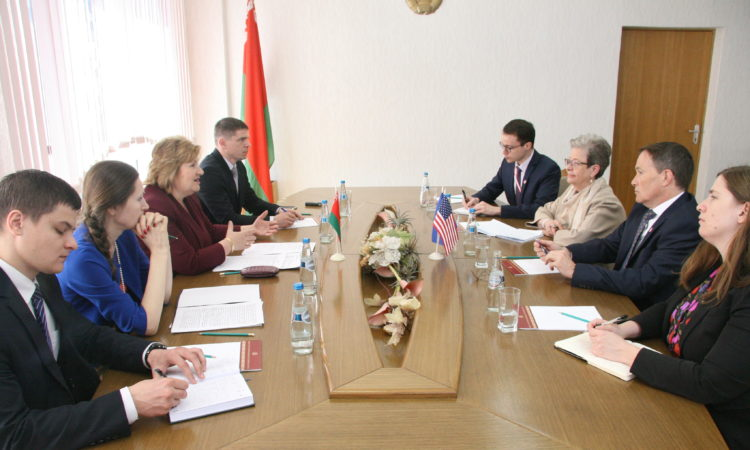 met with Minister of Information Lidiya Ananich