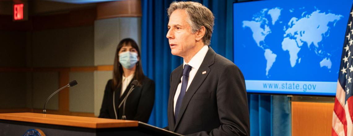 Государственный Секретарь Блинкен представил Доклад о Ситуации с Правами Человека 2020
