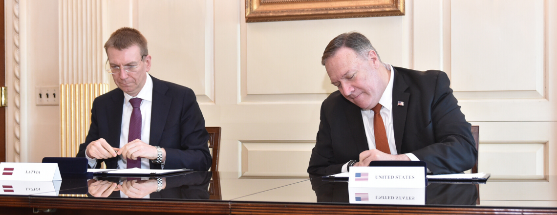 США и Латвия подписывают декларацию о безопасности сетей 5G
