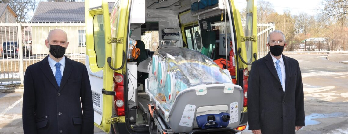 United States European Command Donates Medical Equipment to Emergency Medical Service