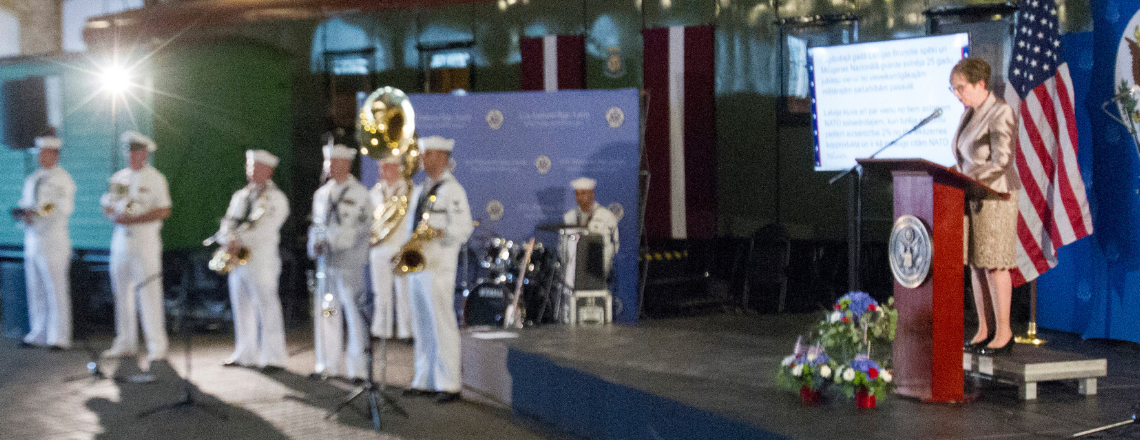 Vēstniecība svin ASV Neatkarības dienu