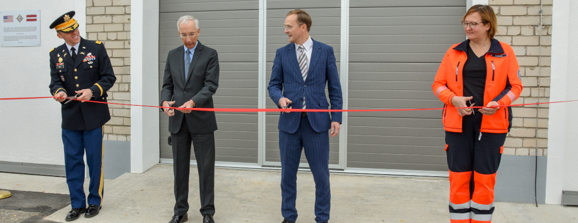U.S. Funds Renovation of State Emergency Medical Service Warehouse in Kandava