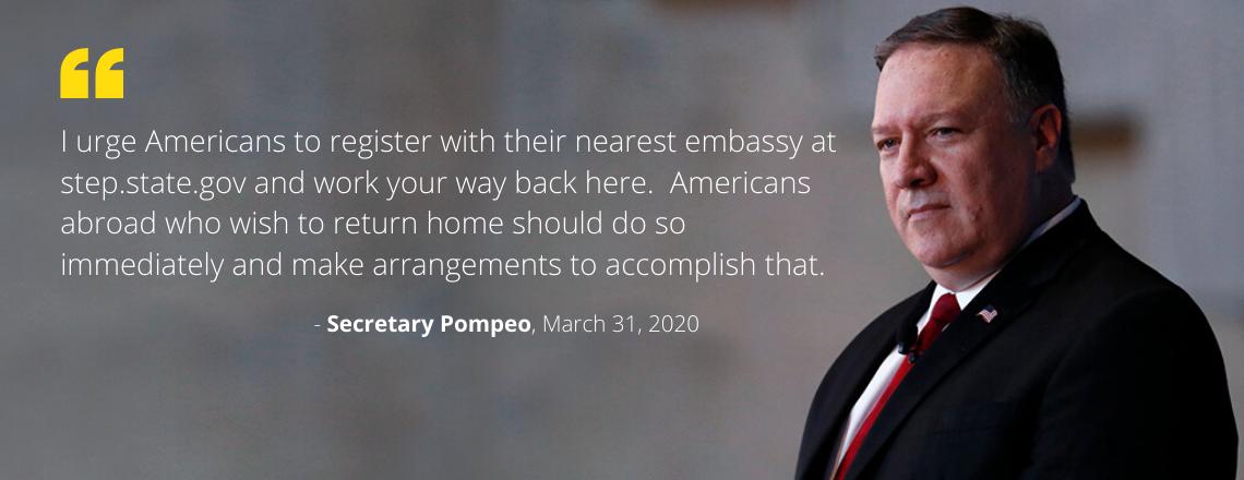 Secretary Michael R. Pompeo Remarks to the Press