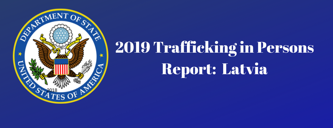 State Department Releases Trafficking in Persons Report 2019
