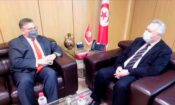 Ambassador Donald Blome met with Minister of Finance Ali Kooli