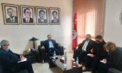 Ambassador meeting with UGTT