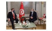 Ambassador meets tunisian foreign mininster