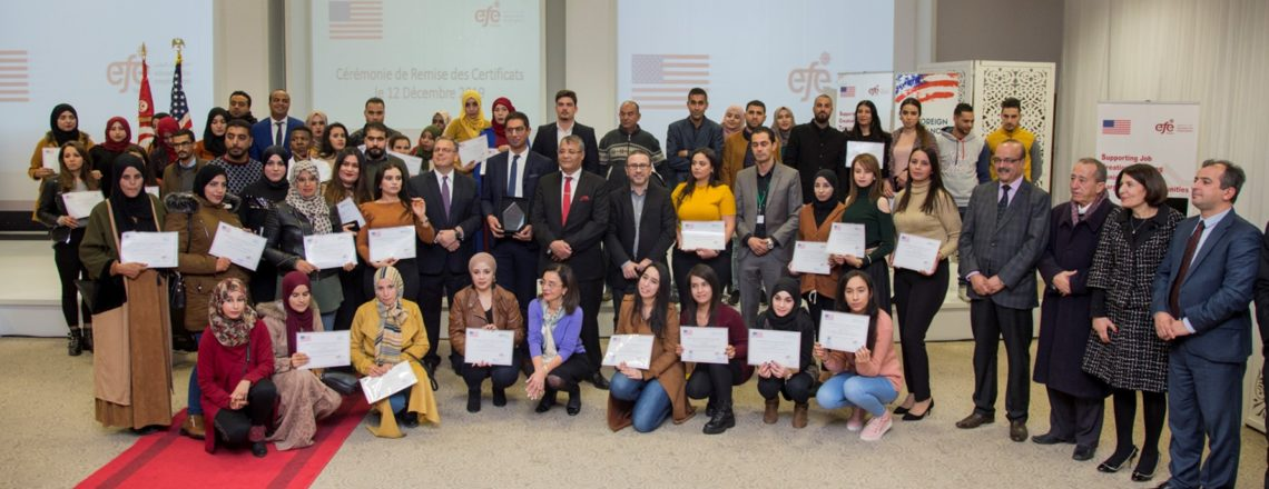 Ambassador Blome Remarks for Education for Employment (EFE)'s Graduation Ceremony