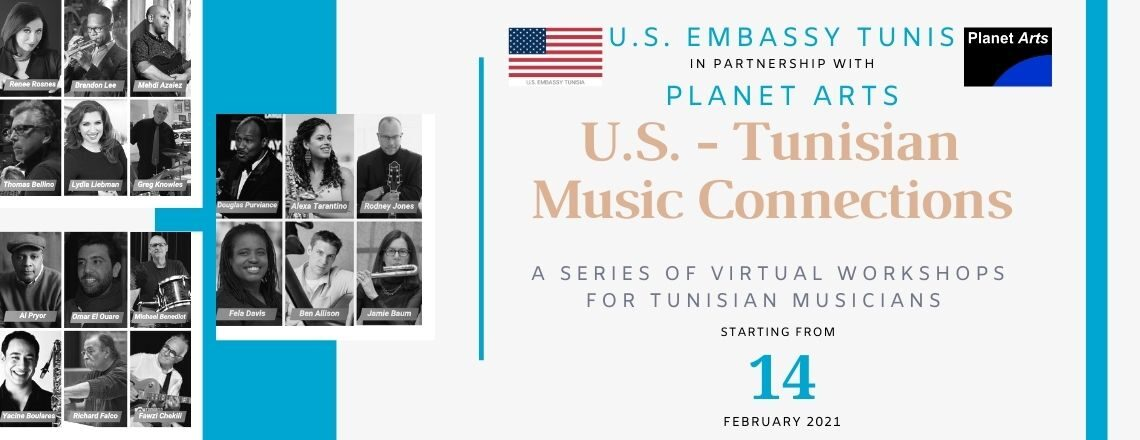 Workshops with U.S. and Tunisian Musicians in Partnership with U.S. and Tunisian Musicians