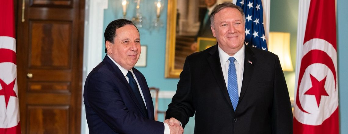 Secretary Pompeo's Meeting with Tunisian Foreign Minister Khemaies Jhinaoui