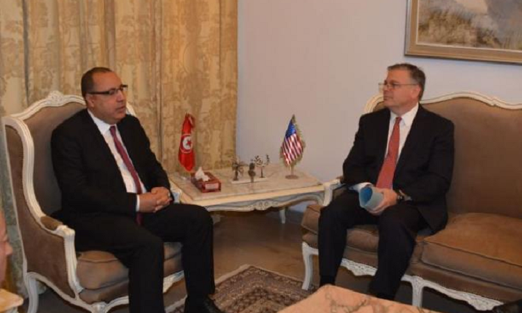 Interior Minister meets with U.S. Ambassador in Tunis