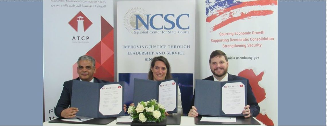 Launch Ceremony of an Anti-Corruption Partnership Agreement between NCSC and ATCP