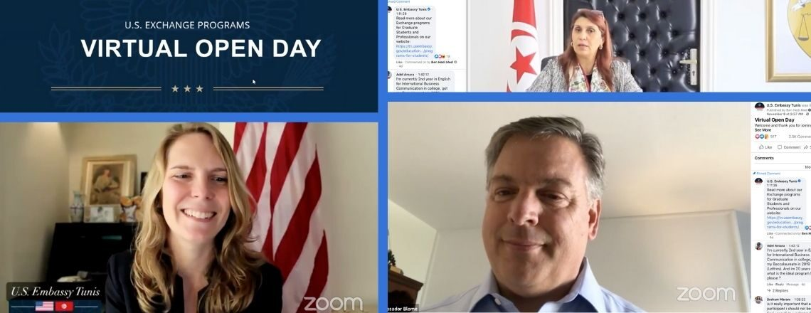 U.S. Embassy Exchange Programs Virtual Open Day (videos)