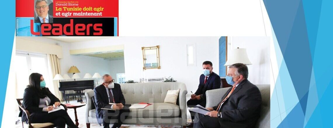 Exclusive Interview with Ambassador Donald Blome Conducted by Leaders Magazine