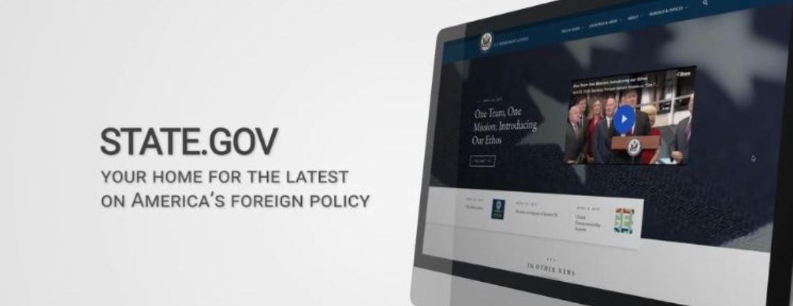 Bienvenue dans le nouveau site de State.gov!