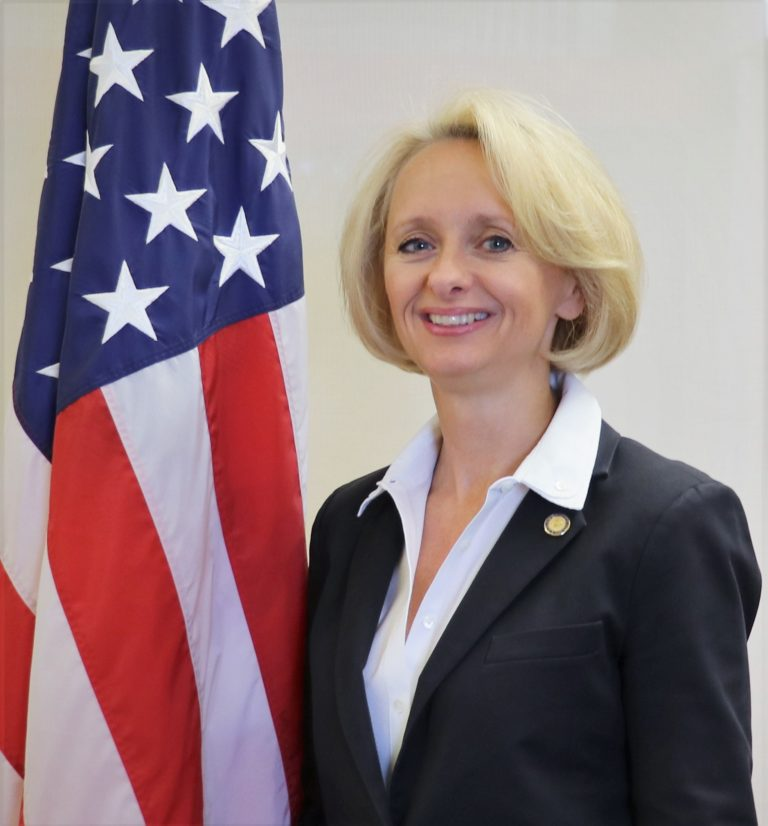 Photo of Charge d'Affaires Martina Strong