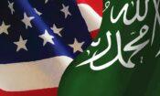 Saudi American Flag