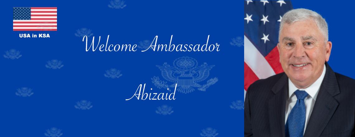New U.S. Ambassador Arrives in Riyadh