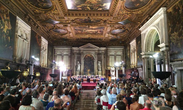 The mock trial in Venice