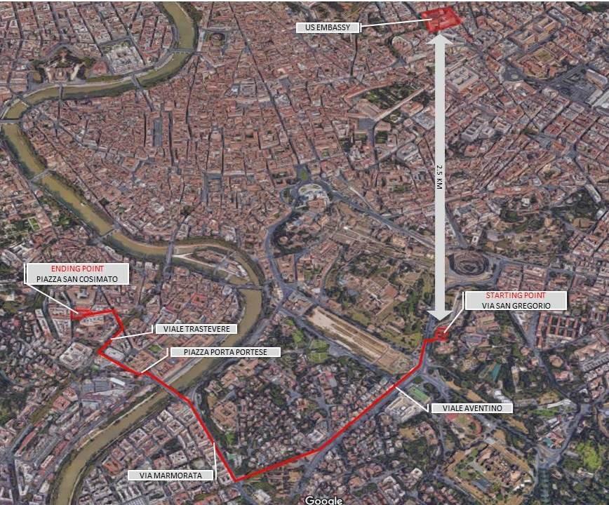 Map 1 | U.S. Embassy & Consulates in Italy