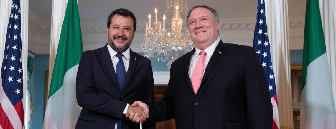 Secretary Pompeo's Meeting with Italian Minister Matteo Salvini