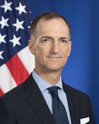 Photo of Chargé d'Affaires ad interim Thomas D. Smitham