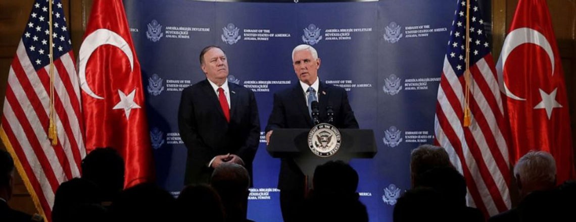 Remarks by Vice President Pence and Secretary Pompeo in Press Conference | Ankara, Turkey