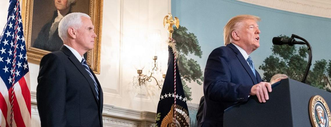 Intervento del Presidente Trump sulla situazione nella Siria settentrionale