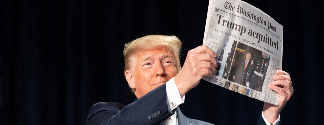 Intervento del Presidente Trump alla Nazione