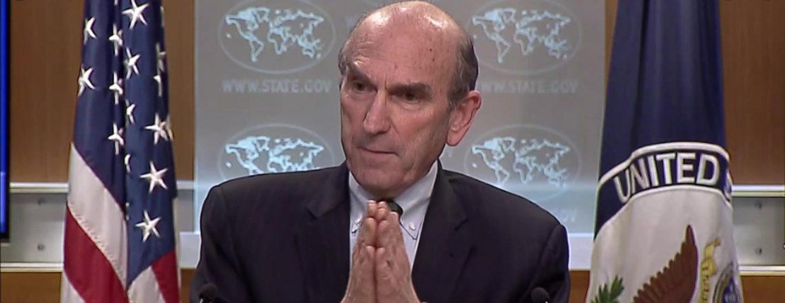 Briefing con il rappresentante speciale per il Venezuela Elliott Abrams
